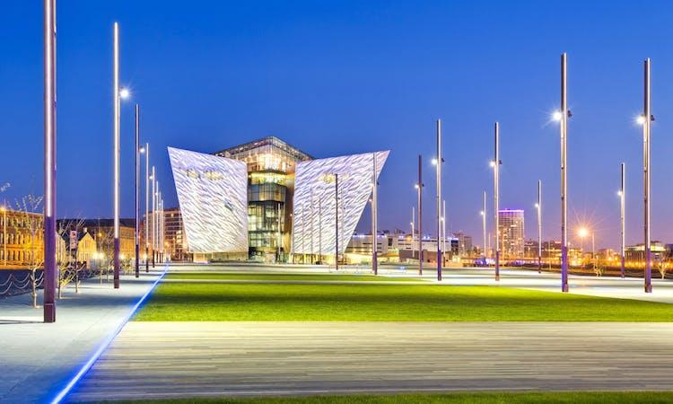 titanic belfast - tickets - museum - building - field