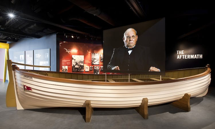 titanic belfast - tickets - museum - gallery - aftermath - boat