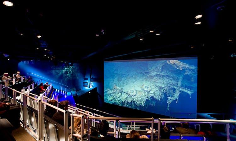 titanic belfast - tickets - museum - gallery - cinema - wreck