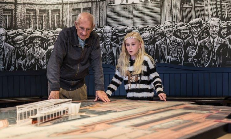 titanic belfast - tickets - museum - gallery - launch - people