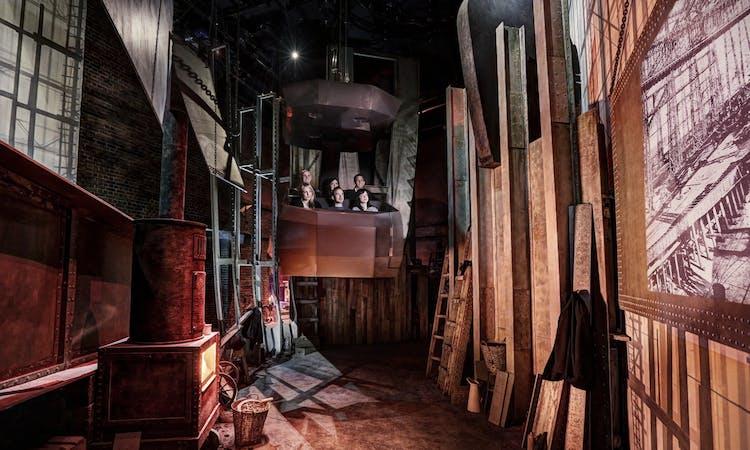 titanic belfast - tickets - museum - ride