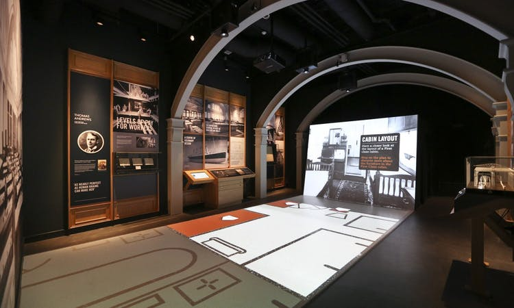 titanic belfast - tickets - museum - ship interior