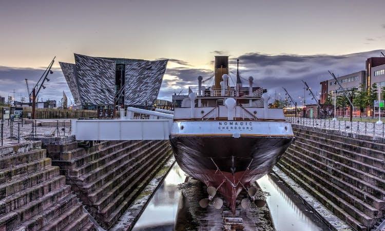 titanic belfast - tickets - ss nomadic