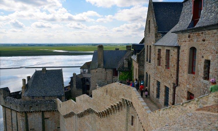 Mont Saint-Michel day trip: village and abbey visit-1