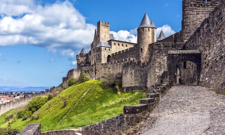 Château Comtal and remparts-1
