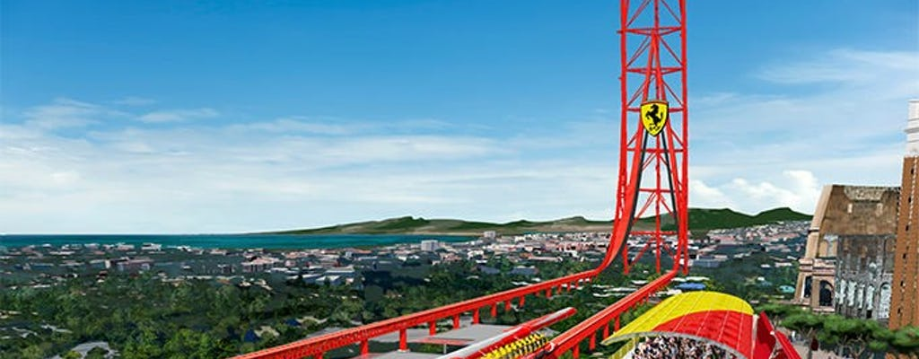 Billets Pour Ferrari Land Et Portaventura Park Et Transport En Train Depuis Barcelone Musement