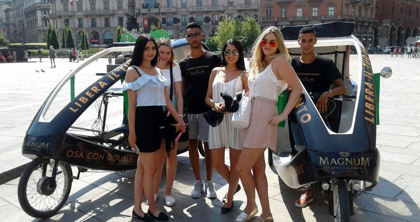 Milan rickshaw tour with Last Supper tickets-2