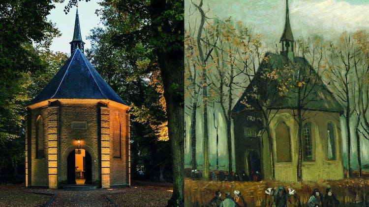 Van Gogh painting church.jpeg