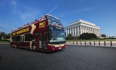 City tours,Bus tours,Washington Tour