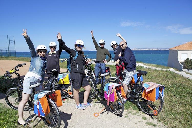 E-bike day tour Marseille to Calanques-0