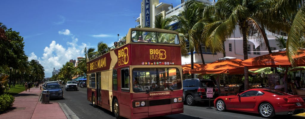 Visite de Miami en Big Bus hop-on hop-off