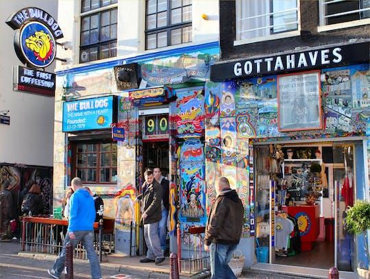 Wycieczka po Dzielnicy Czerwonych Latarni i coffee shop w Amsterdamie