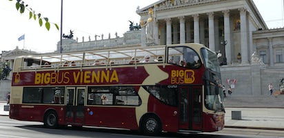 Vienna Card with Big Bus hop-on hop-off tour for 24h, 48h or 72h