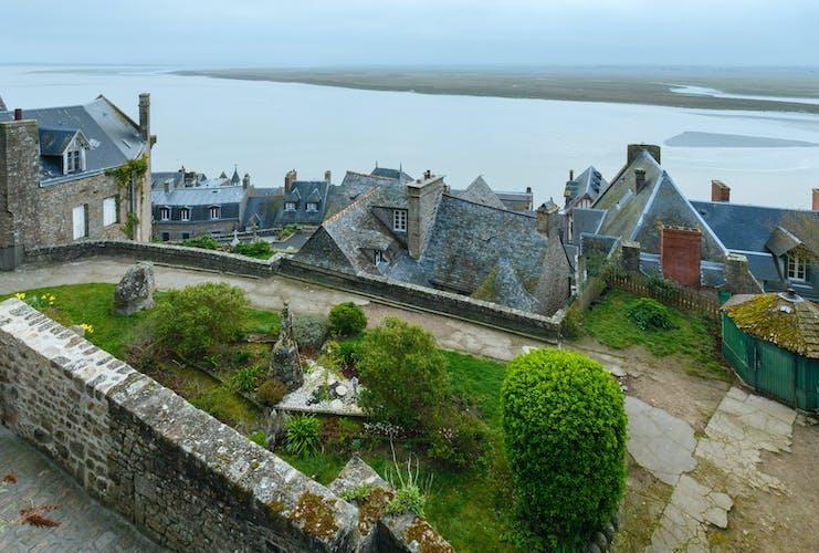 Entrance Ticket Mont Saint Michel Normandy France.jpg