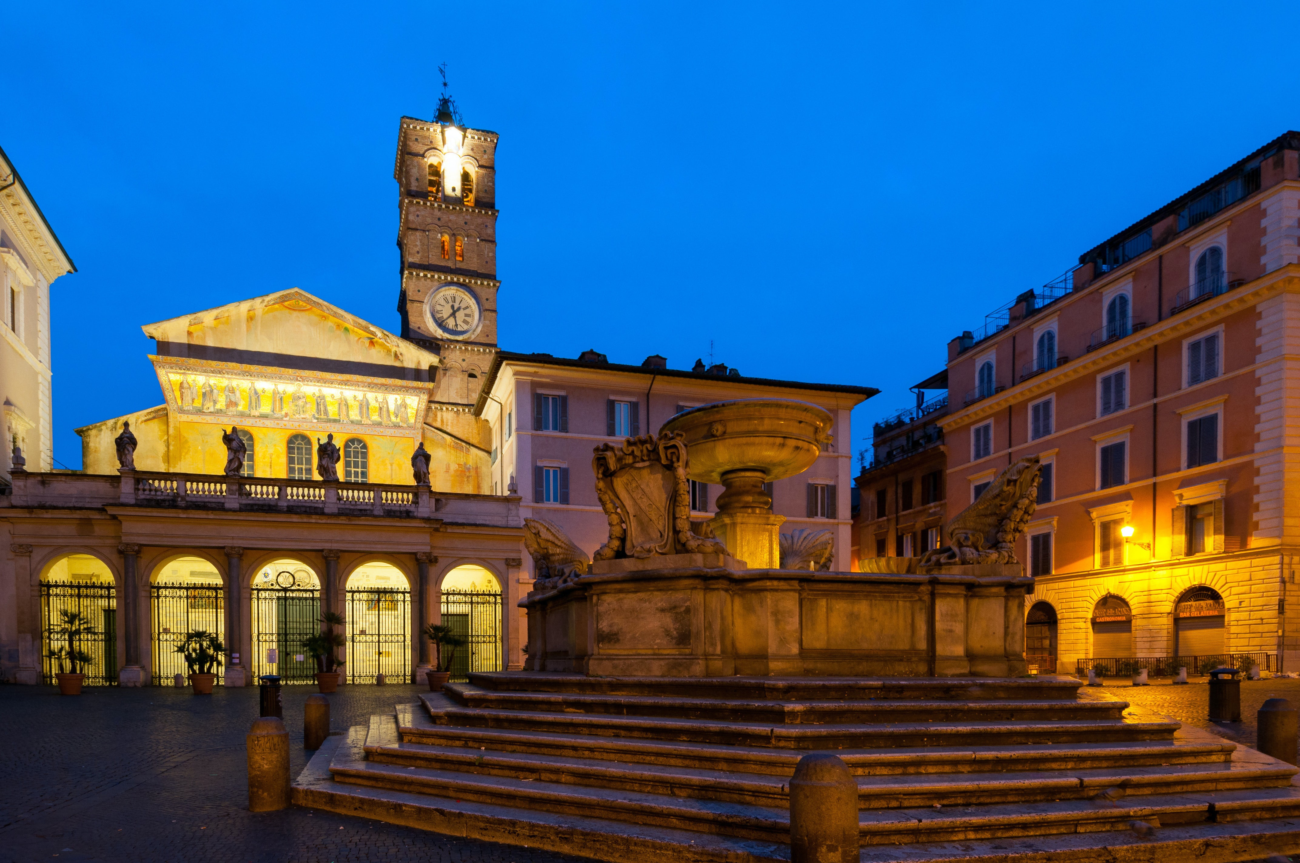 Image result for Trastevere in inverno