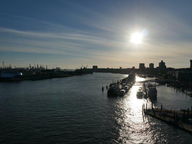 Port of Hamburg  cruise and Elbphilharmonie tour_Panoramic view from Plaza.jpeg