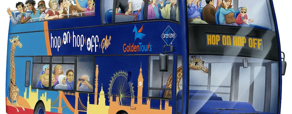 London Hop On Hop Off Bus Tickets With Buckingham Palace Musement