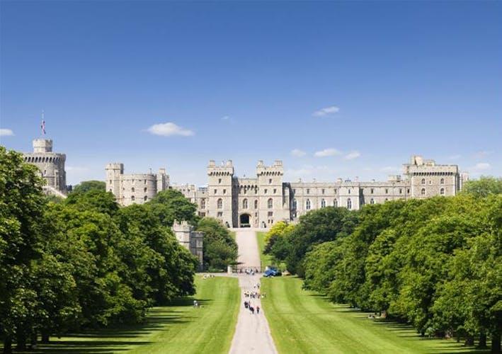 Windsor Castle path