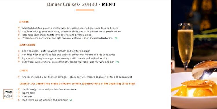 bateaux èarisiens dinner cruise menu.PNG