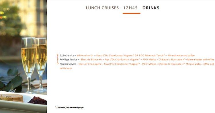 bateaux parisiens lunch cruise drinks.PNG