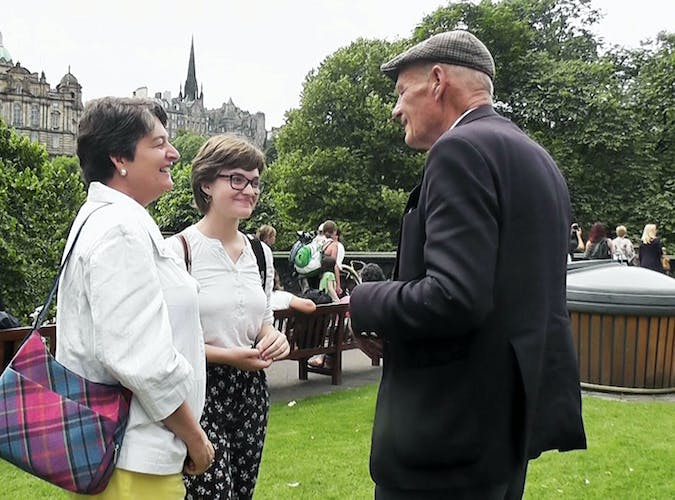 Full-day private tours - Stuart with two delighted clients.jpeg