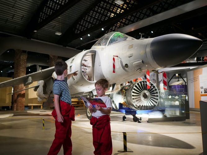 The children's trail at Aerospace Bristol - Sea Harrier (1).jpg